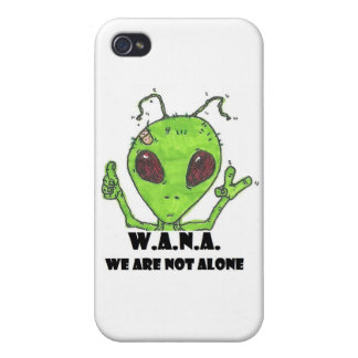 Alien Acronym iPhone 4 Cover