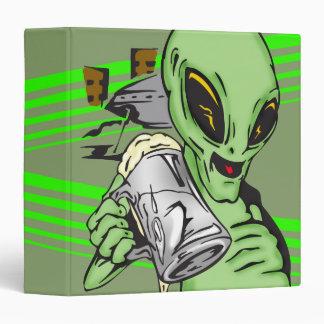 Alien Ale 3 Ring Binder