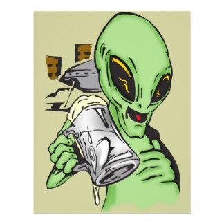 Alien Ale Flyer