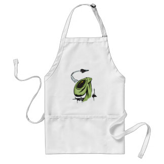 Alien and Airplane Adult Apron