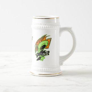 Alien And Laser Gun Coffee Mugs