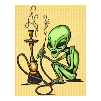 Alien and Water Pipe Flyer