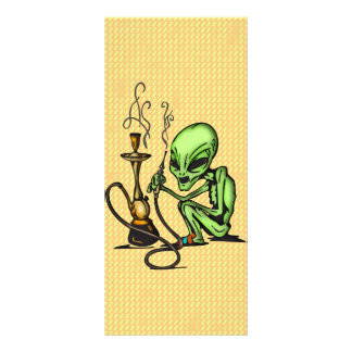 Alien and Water Pipe Rack Cards