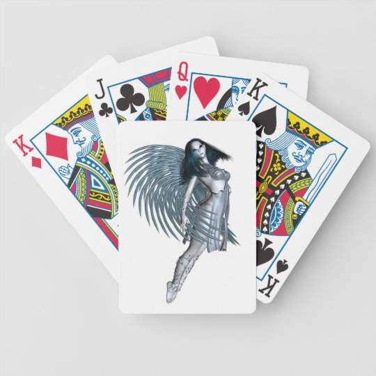 Alien Angel - 1 Bicycle Playing Cards
