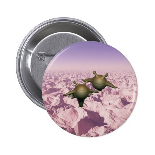 Alien animal animal Marte Martian Pin Redondo 5 Cm