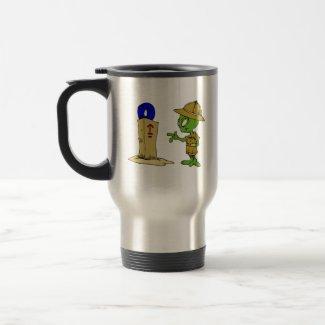 Alien Archaeologist mug