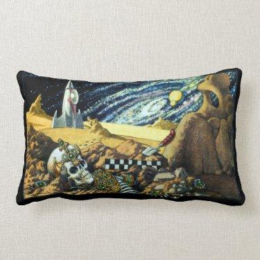 Alien Archeology Pillow
