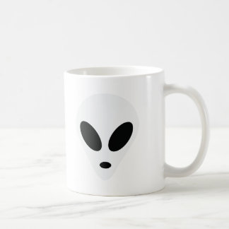 alien area 51 space monster classic white coffee mug
