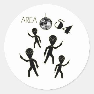 Alien Area 54 Sticker