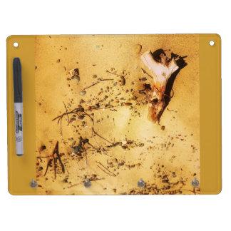 Alien_Art 2014 Dryboard Dry Erase Board With Keychain Holder