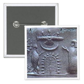 Alien Astronauts Button