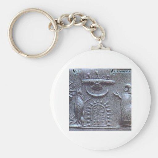 Alien Astronauts Keychain
