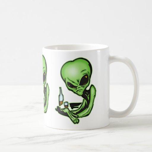 Alien At The Local Bar Mug