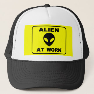 alien at work hat