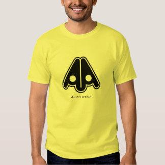 Alien Atom Black Logo T-shirt