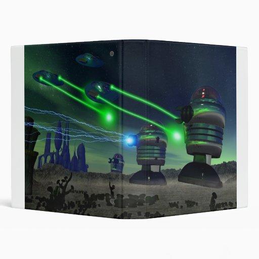 Alien Attack Binder 2