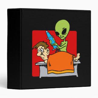 Alien Autopsy 3 Ring Binder