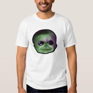 alien baby face t shirt
