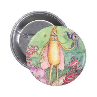 Alien Baby Pinback Button