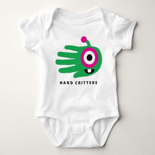 Alien Baby Tooth Baby Bodysuit