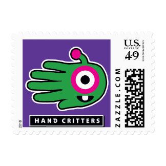 Alien Baby Tooth Stamps