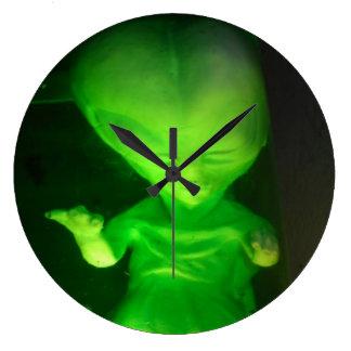 Alien Baby Wall Clock