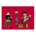 Alien Band Card
