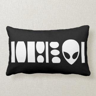 aLiEn Barcode! Pillow