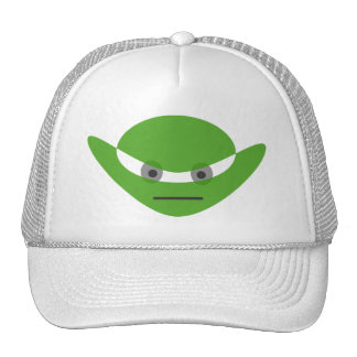 Alien baseball cap trucker hat