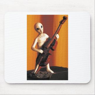 Alien Bass-ics Mouse Pad