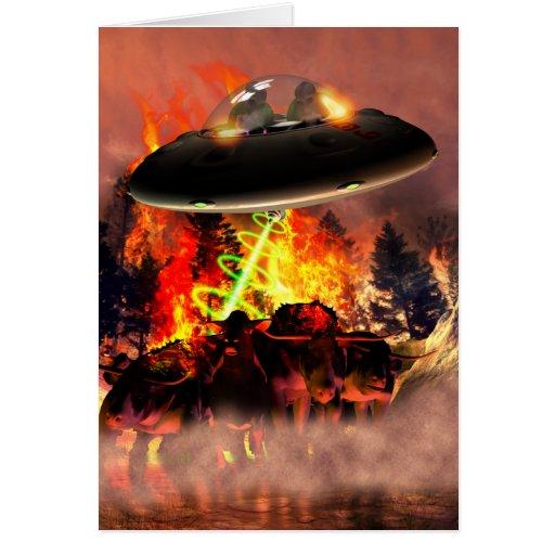 Alien BB-Q Card