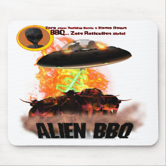 Alien BB-Q Mousepad