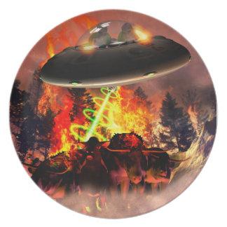 Alien BB-Q Plate