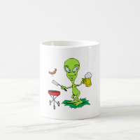 Alien BBQ Mugs