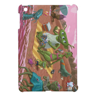 alien beach vacation case for the iPad mini