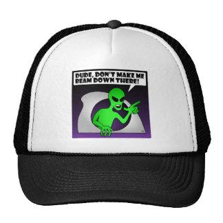 ALIEN BEAM-1 TRUCKER HAT