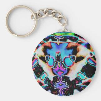 Alien Beauty Blue  ABB Keychain