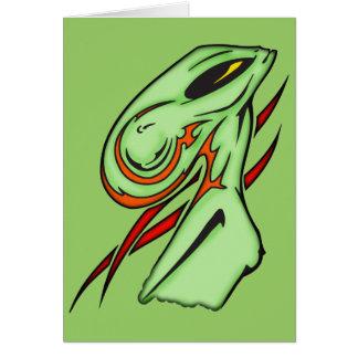 Alien Beauty Card