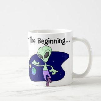 Alien Beginning Classic White Coffee Mug