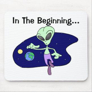 Alien Beginning Mouse Pads