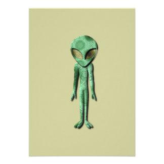 Alien Being Invitation