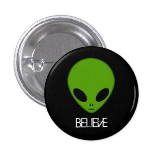 Alien Believe button