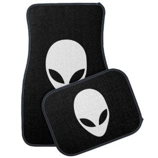Alien Believe Car Floor Mat