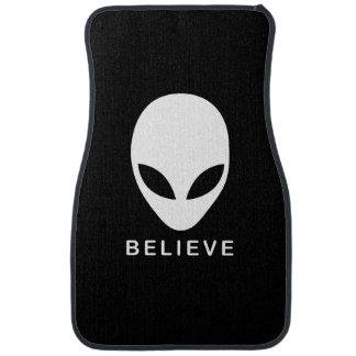 Alien Believe Car Mat