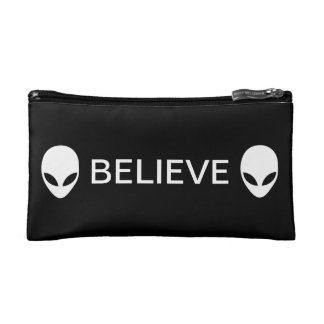 Alien Believe Cosmetic Bag