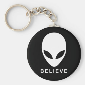 Alien Believe Keychain