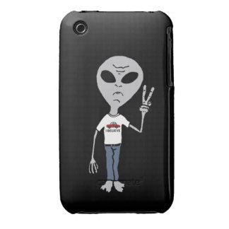 Alien Believer iPhone 3 Cover