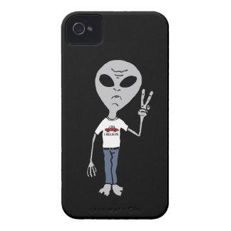 Alien Believer iPhone 4 Case-Mate Cases