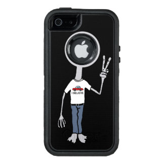 Alien Believer OtterBox Defender iPhone Case