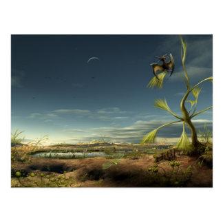 Alien Biotope Postcard